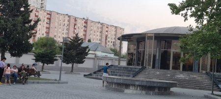 Müasir park nə üçün qaranlığa qərq olub?-Video/Foto