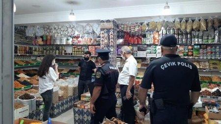 Bakı polisi reyd keçirir - Foto