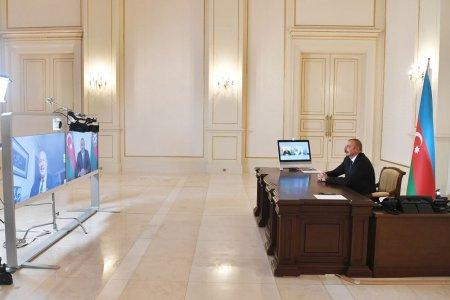 """Prezident İlham Əliyevin Fransanın """"Figaro"""" qəzetinə müsahibəsi (FOTO)"""