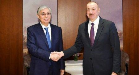 Qazaxıstan prezidenti İlham Əliyevə zəng etdi