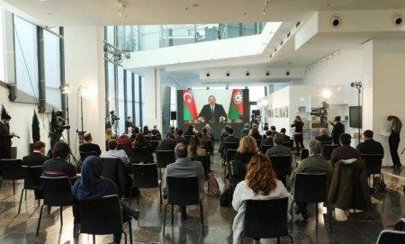 Prezident İlham Əliyev 4 saatlıq konfransda mühüm məsələlərə toxundu