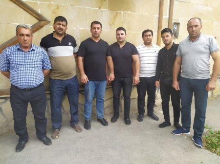 """""""Mərcan broyler"""" MMC- nin bir qrup işçiləri etiraza qalxdı... - FOTO"""