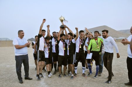 Abşeronda şəhidlərin xatirəsinə futbol turniri keçirildi