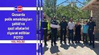 Qusar RPŞ-nin əməkdaşları şəhid ailələrini ziyarət ediblər