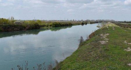 Yuxarı Qarabağ kanalında bir nəfər batıb