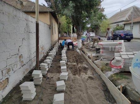 Zərdabda abadlıq-quruculuq işləri geniş vüsət alıb-FOTOLAR