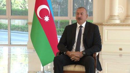 Prezident İlham Əliyev Türkiyənin Anadolu Agentliyinə müsahibə verib