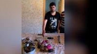 Paytaxtın Xəzər rayonunda narkotik vasitələrin satışı ilə məşğul olan şəxs saxlanılıb - VİDEO