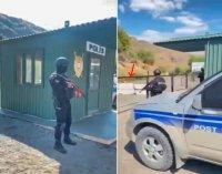 Azərbaycan polisi Gorus-Qafan yolunda