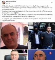 """Pərviz Həşimidən MTN-lə bağlı AÇIQLAMA: - """"Məni və naziri şərləmişdilər"""""""
