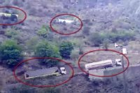 İran dayanmır: indi də bu yolla Ermənistana yük daşınır - VİDEO