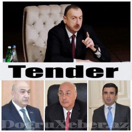 """İcra Hakimiyyətlərində baş  verən tender  """"maxenasiya""""ları"""