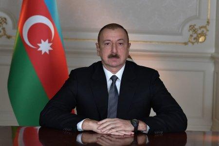 Azərbaycan Prezidenti Hadrutda yeni məscidin təməlini qoyub