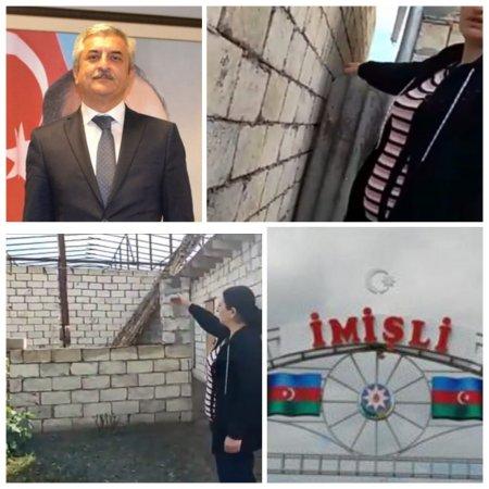 İmişlidə qanunun icazə vermədiyi tikintiyə kmlər icazə verir? -
