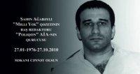 Bu gün tanınmış jurnalist Şahin Ağabəylinin anım günüdür